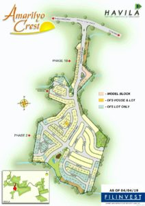 Amarilyo Crest Map