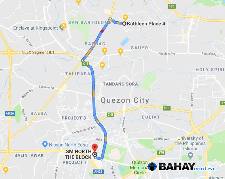 RFO Townhouses in Kathleen Place 4 Quezon City – Bahay Central