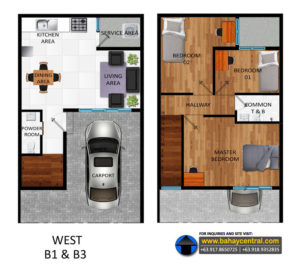 East Drive Unit Floorplans