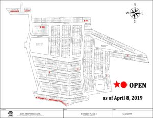 Kathleen Place 4 Subdivision Map