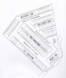 San Roque Hills Subdivision Map