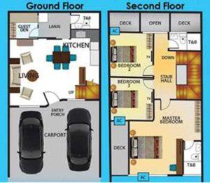 DAO Townhomes Floorplan