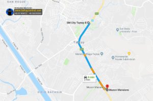 Muzon Mansions Location Map