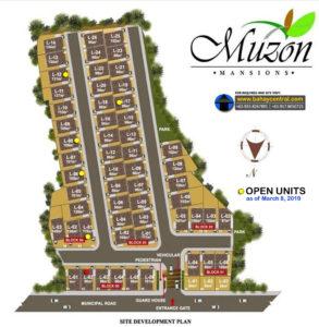 Muzon Mansions Site Development Plan